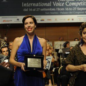 secondo premio Audrey Elizabeth Luna Soprano USA