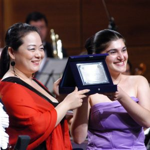 secondo premio exaequo_Anna Kasyan Soprano Georgia e Francesca Ji Hyun Park Soprano Corea